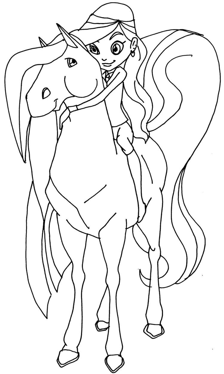 Horseland Coloring Pages For Kids