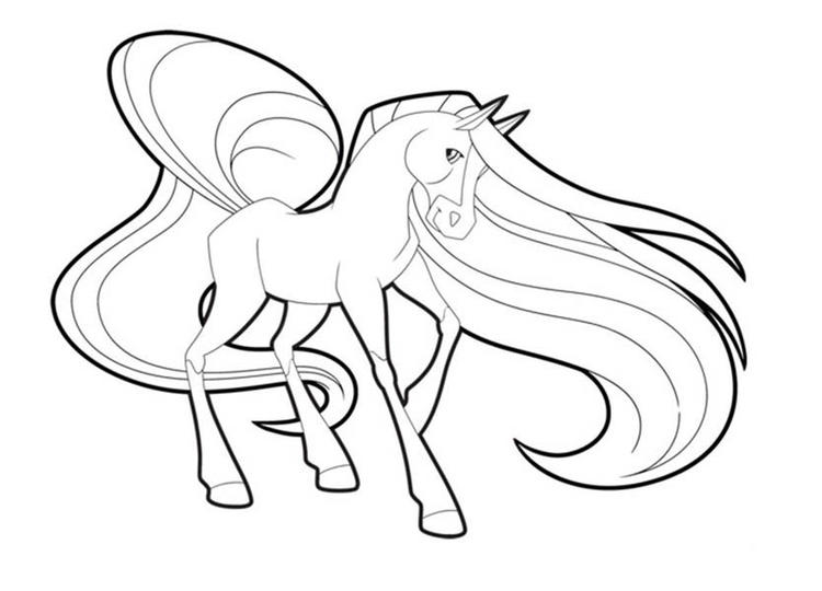 Horseland Coloring Pages To Print