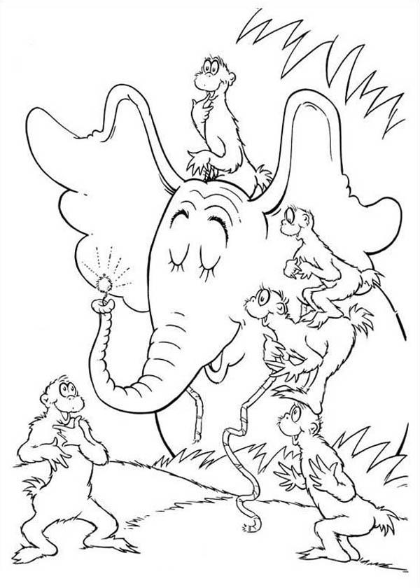 Horton Hears A Who Meet Wickershams Coloring Pages