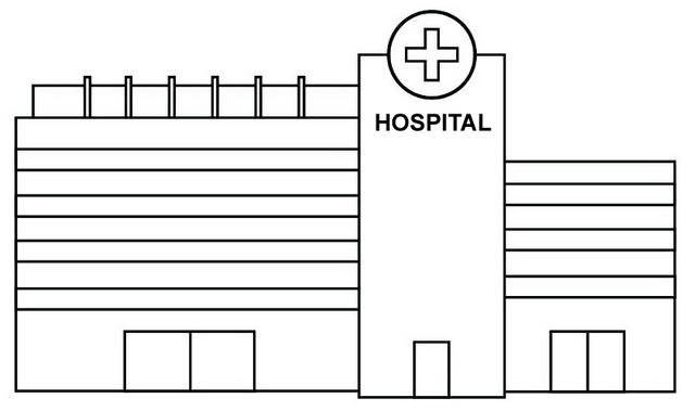 Hospital Coloring Pages To Teach Kids Healthcare