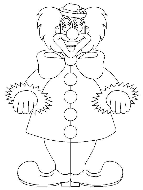 How To Draw Circus And Carnival Clown Coloring Pages
