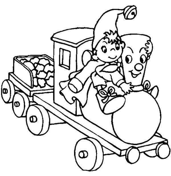 How To Draw Noddy Coloring Pages