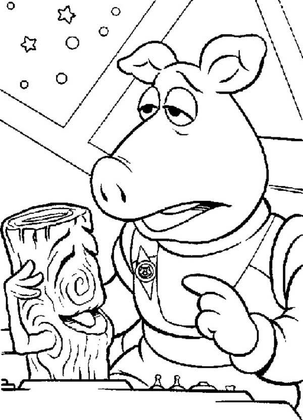 How To Draw The Muppets Show Coloring Pages