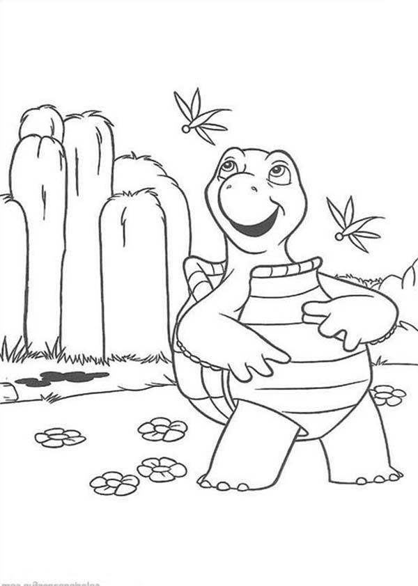 How To Draw Verne The Turtle From Over The Hedge Coloring Pages