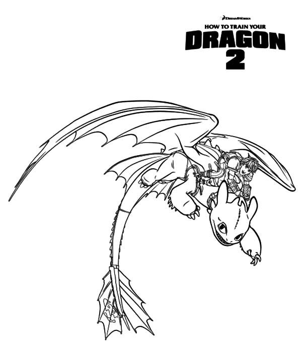 How To Train Your Dragon 2 Coloring Pages Printable