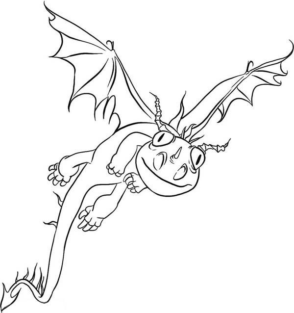 How To Train Your Dragon Coloring Pages Terrible Terror