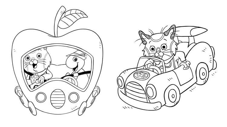 Huckle Cat Coloring Pages