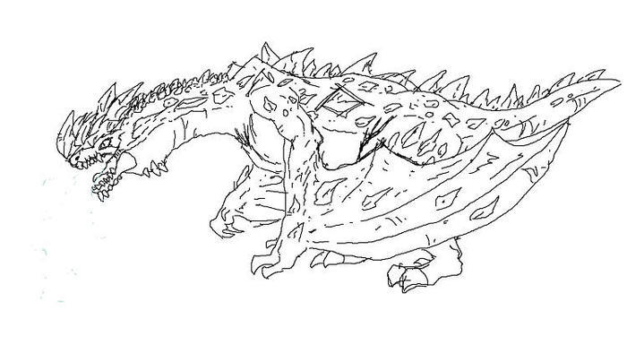 Ice Dragons Coloring Pages