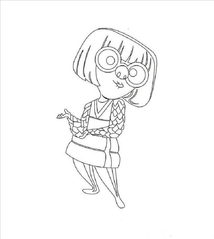 Incredibles Coloring Pages Edna