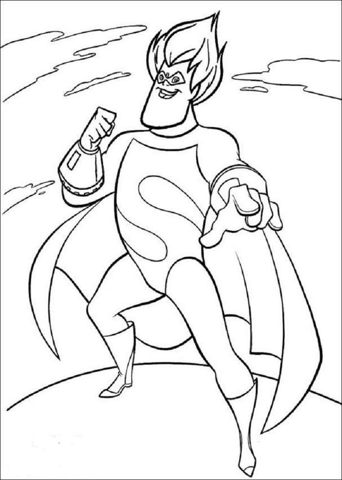Incredibles Coloring Pages Syndrome