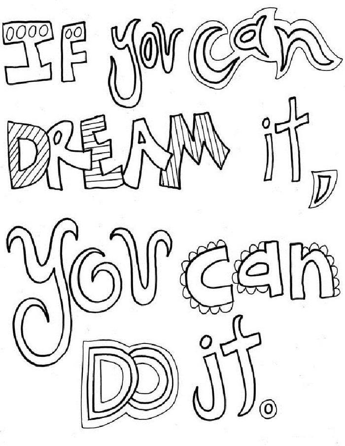 Inspirational Coloring Pages For Student