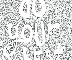 Inspirational coloring pages free