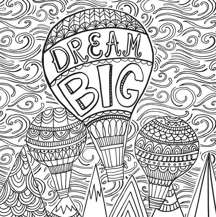 Inspirational Coloring Pages Stress Relief