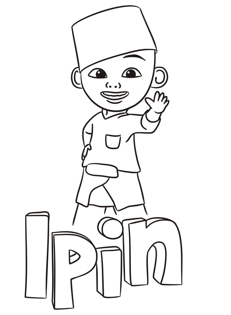 Ipin Coloring Pages