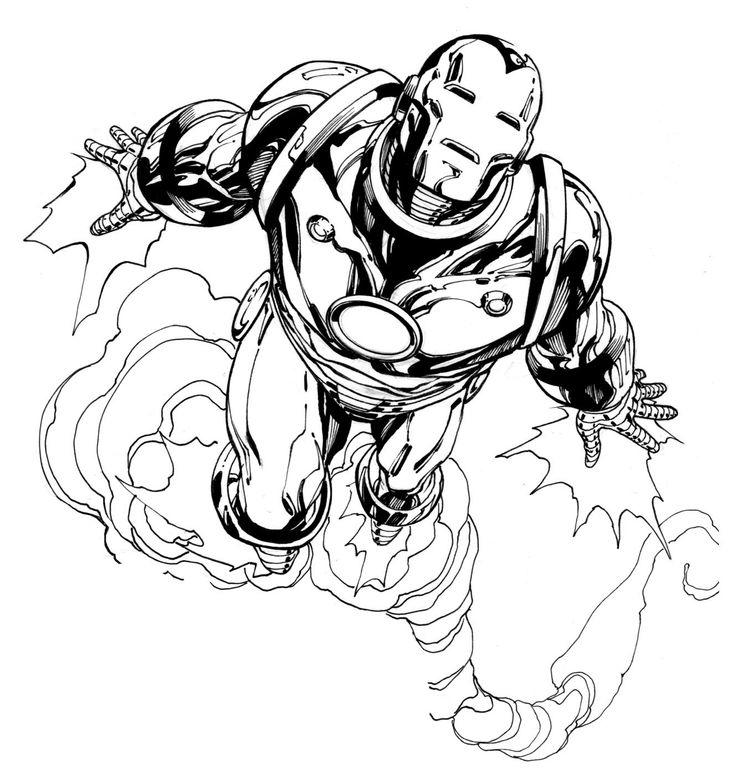 Iron Man Movie Coloring Pages