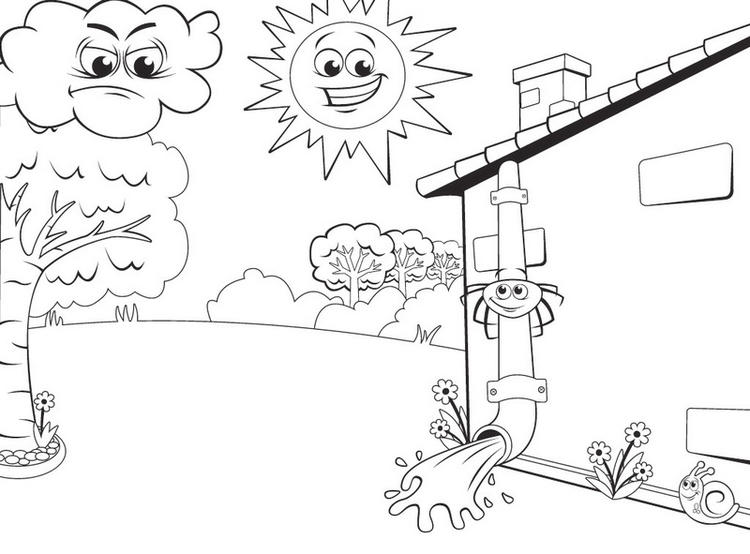 Itsy Bitsy Spider Adventures Coloring Sheet