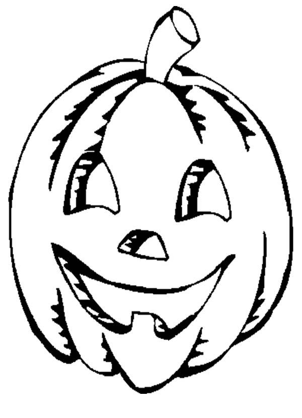 Jack O Lantern Coloring Pages For Kids Printable