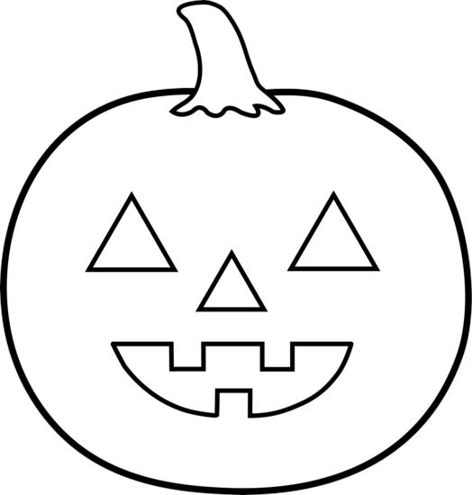 Jack O Lantern Coloring Pages For Preschool
