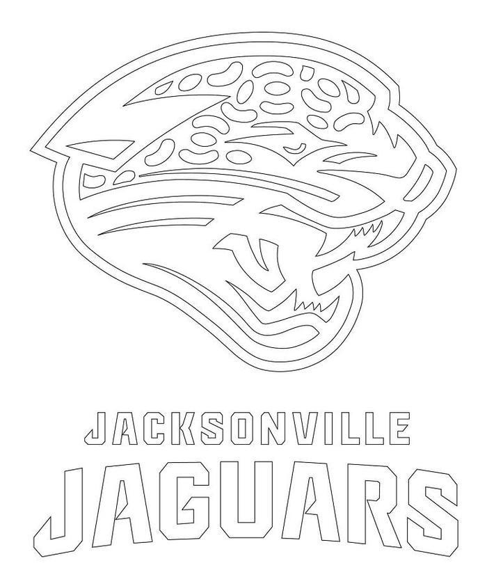 Jacksonville Jaguar Coloring Pages