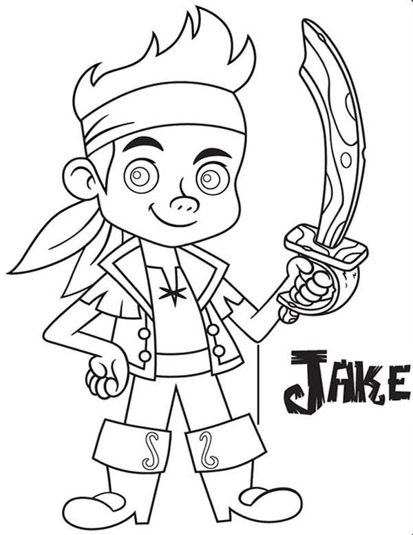 Jake And The Neverland Pirates Coloring Pages For Child