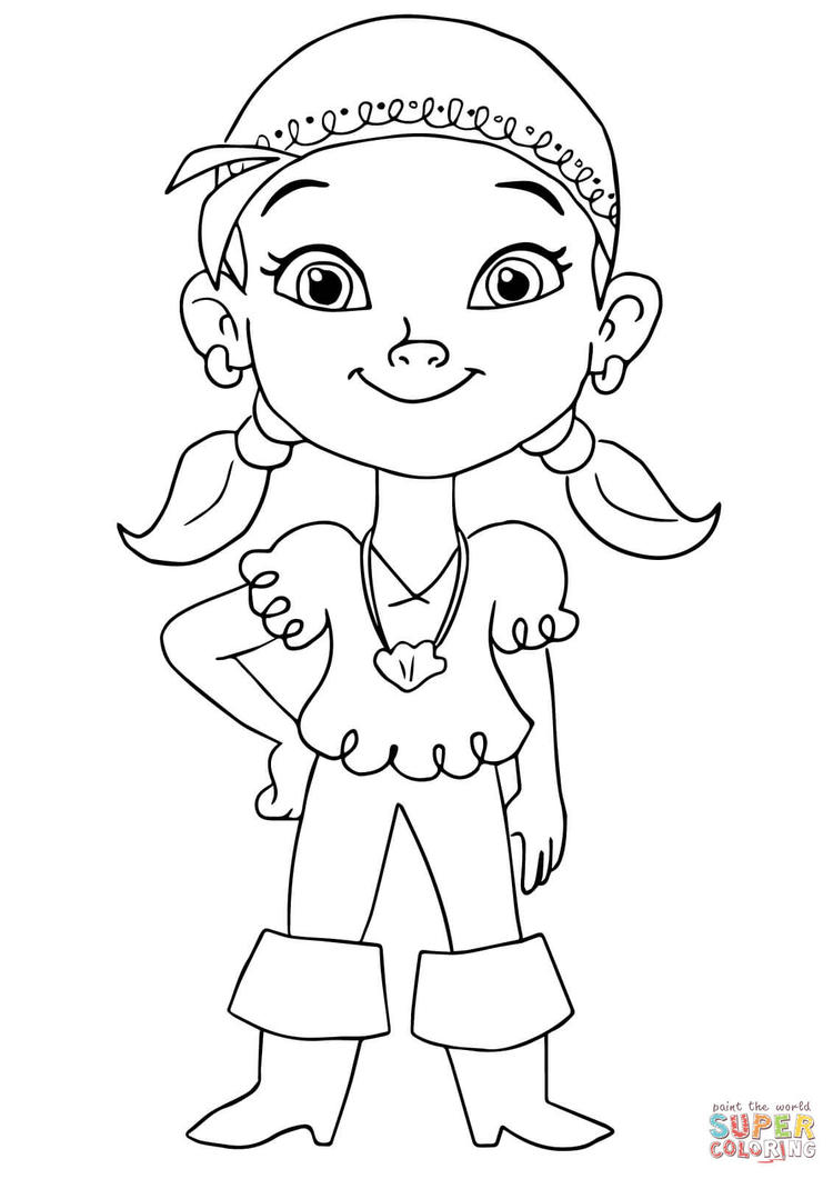 Jake And The Neverland Pirates Coloring Pages For Kids