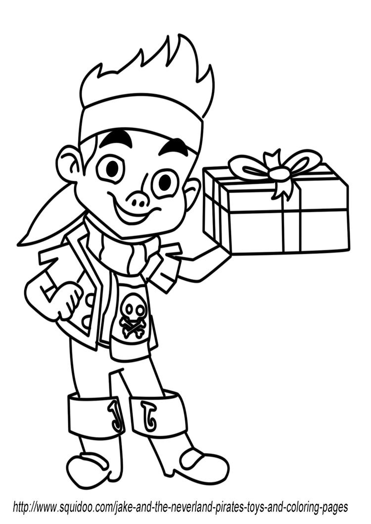 Jake And The Neverland Pirates Coloring Pages For Preschool