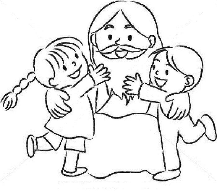 Jesus Coloring Pages For Toddlers