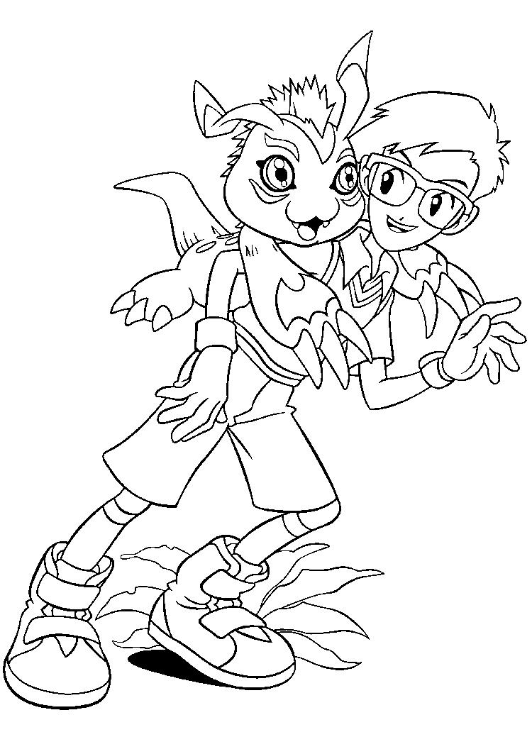 Joe Digimon Coloring Pages