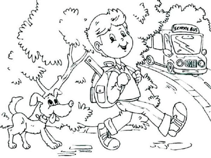July Back To School Coloring Pages