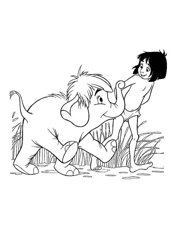 Jungle Book Coloring Pages For Kids