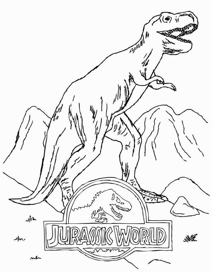 Jurassic World Coloring Pages To Download