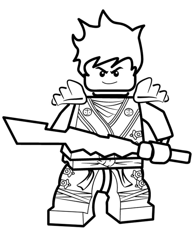 Kai Ninjago Coloring Pages Coloring Ideas