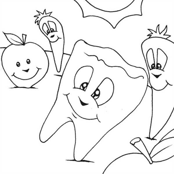 Keep Your Teeth Healthy With Dentist Coloring Pages