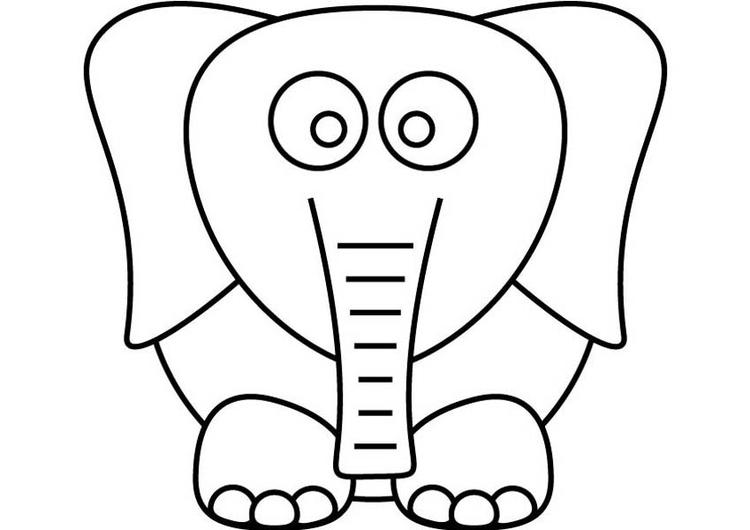 Kids Drawing Dumbo The Elephant Coloring Pages