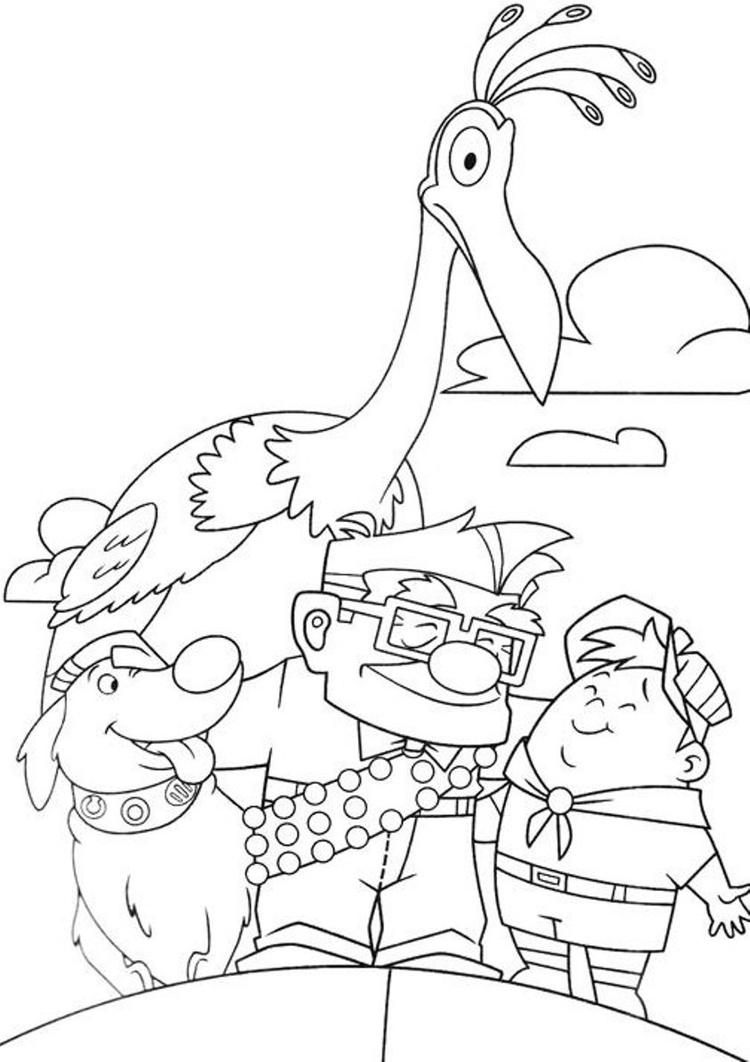 Kids Up Coloring Pages