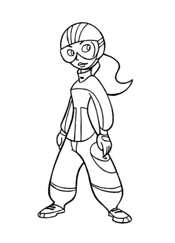 Kim Possible Ready In Action Coloring Pages
