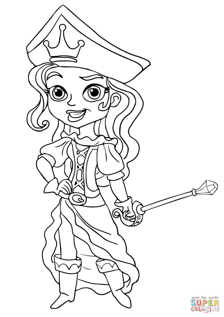 Kindergarten Jake And The Neverland Pirates Coloring Pages
