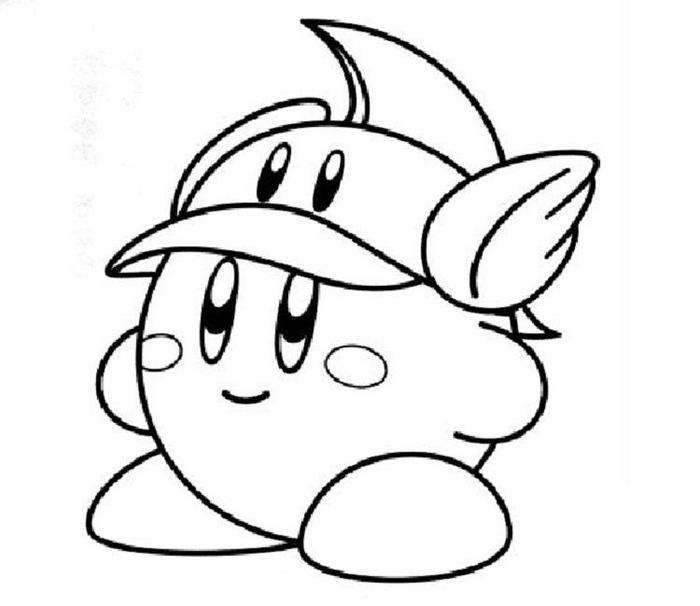 Kirby Coloring Pages To Print