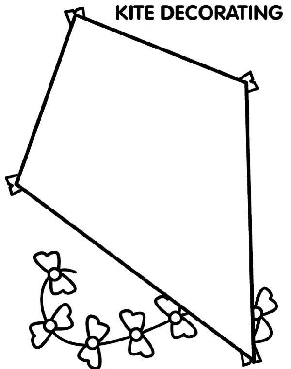 Kite Coloring Pages To Print