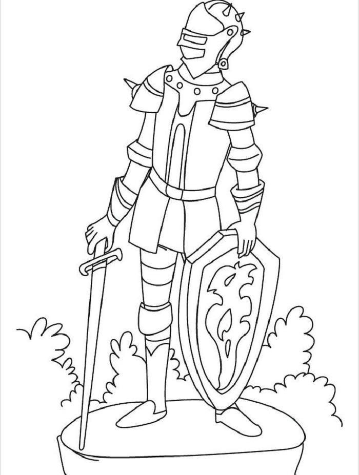 Knights Coloring Pages To Print