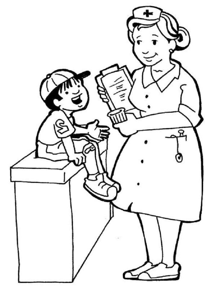 Labor Day Coloring Pages Clinic
