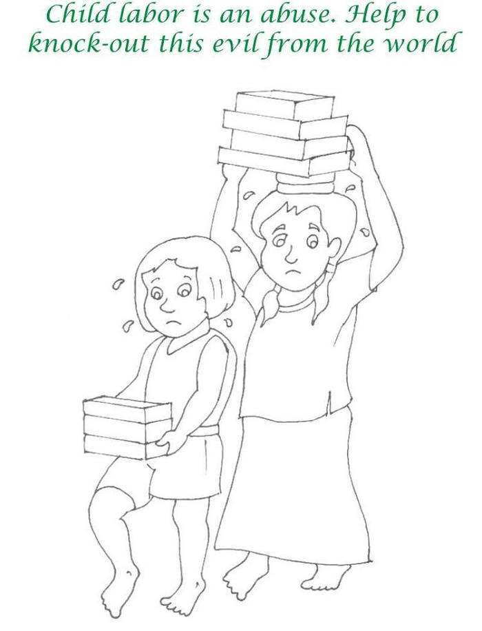 Labor Day Coloring Pages For Children