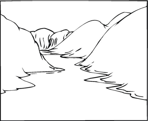Landscape Coloring Pages River