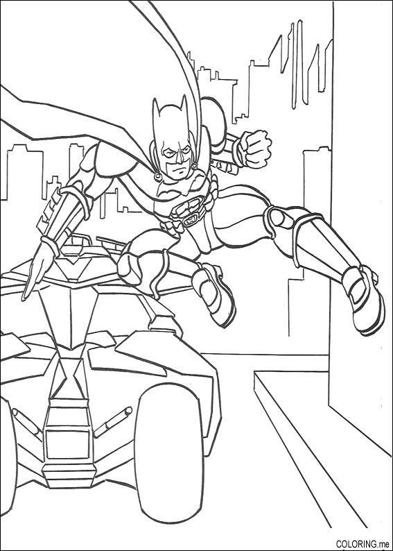 Lego Batman Coloring Pages To Print Out