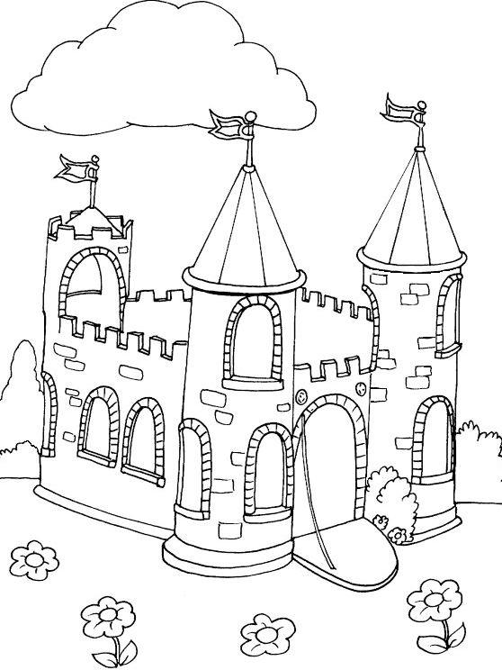 Lego Castle Colouring Page To Print