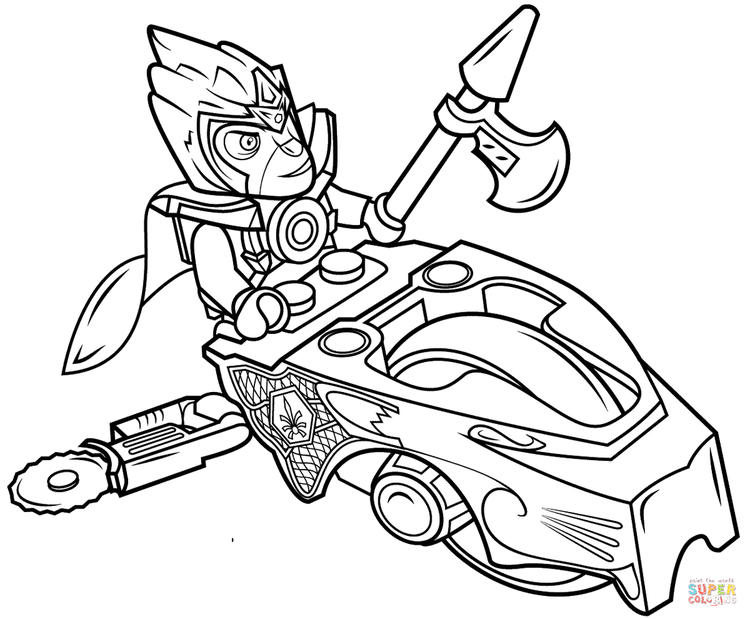 Lego Chima Coloring Page To Print