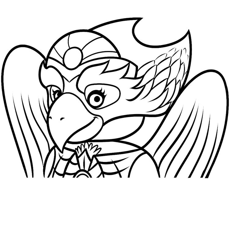 Lego Chima Coloring Pages Eris