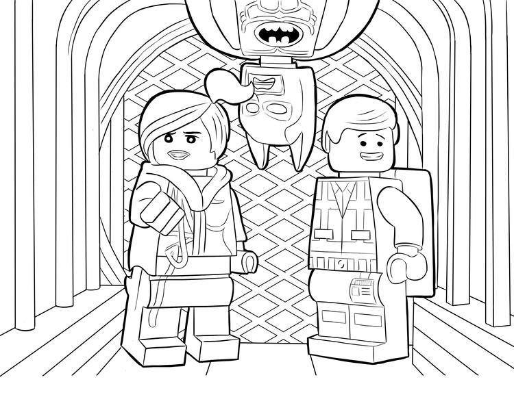 Lego Coloring Pages 07