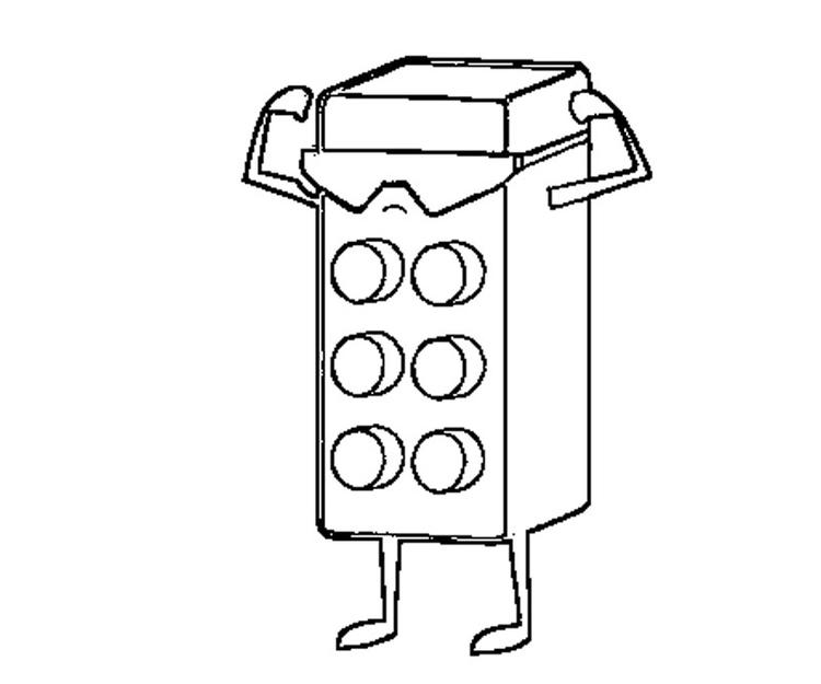 Lego Coloring Pages Free To Print