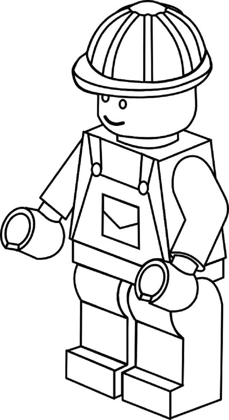 Lego Coloring Pages Free